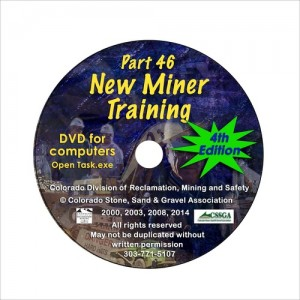 MSHA Part 46 New Miner Training DVD